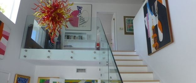 stairs in gallery no Harllows