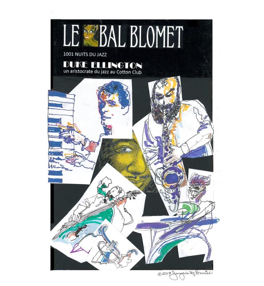 Bal Blomet Jazz poster